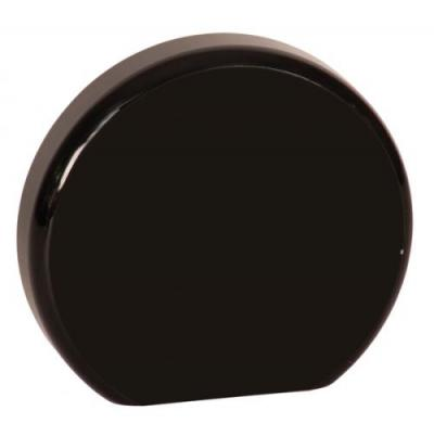 black round acrylic award