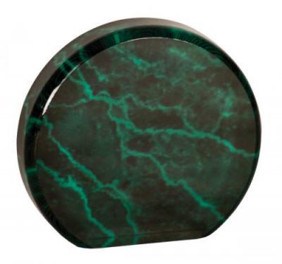 round green marble award